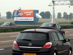 #Mast #Schiphol aan de A4   uploaded by www.drukwerkdeal.n