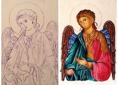 Religious icon by Ioana Cotuna