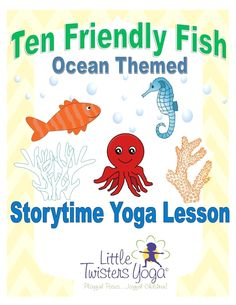 ocean themed yoga  yoga for kids childrens yoga ocean