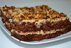 Prajitura cu unt de arahide - de post ~ Bucataria Irinei... Sugar Cookies Recipe, Cookie Recipes, Vegan Recipes, Unt, Raw Vegan, Banana Bread, Deserts, Caramel, Food And Drink