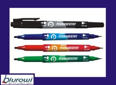 Marker permanentny Tetis KM501 Premium dwustronny Edc, Markers, Sharpies, Sharpie Markers, Every Day Carry