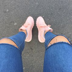 Cute pink sneaks