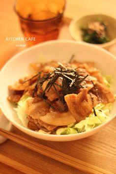 豚丼。 |【キッチンカフェ uzukaji 】