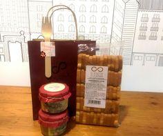 7,90€ 2 PATES VEGETALES ARTESANOS + MINIBISCOTTES PARA UNTAR. Para una cena temática.. #regalospersonalizados #regalosoriginales #comida
