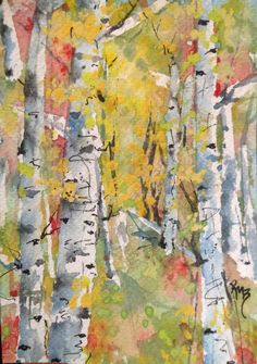 Autumn Trees Robin Miller-Bookhout