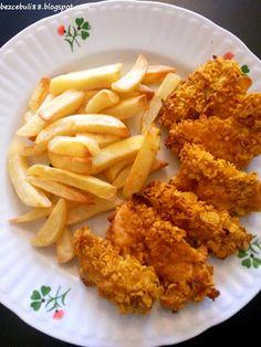BezCebuli: Pieczone nuggetsy z kurczaka