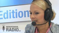 Linda Fäh war bei uns zu Gast an unserem Berufswahlradio.ch Stand!