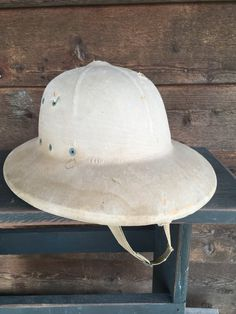 Khaki Pith Helmet - Army Khaki Bush Hat - Military Helmet - Jungle Hard Hat  - f78128176d51