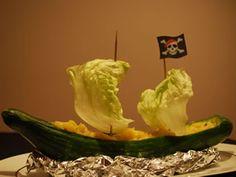 Gurken-Piratenschiff