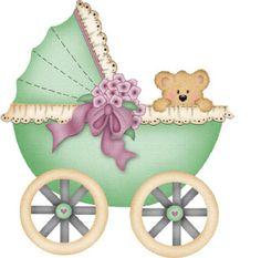 imagenes baby shower para imprimir | Carritos para bebes baby shower