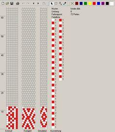 6 around tubular bead crochet rope pattern Bead Crochet Patterns, Bead Crochet Rope, Peyote Patterns, Loom Patterns, Beading Patterns, Beaded Crochet, Crochet Beaded Bracelets, Beaded Bracelet Patterns, Jewelry Patterns