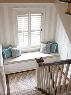 Classic... with a twist: Client Project: Geometric Staircase Runners