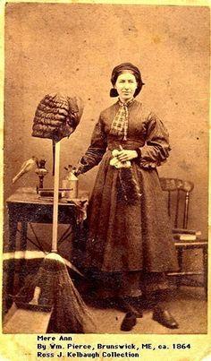 1864 housekeeper in Maine