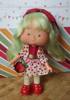 Boneca Moranguinho Estrela Maçãzinha Antiga - R$ 80,00 no MercadoLivre