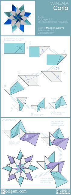 60 Ideas origami art kirigami christmas for 2019 Design Origami, Instruções Origami, Origami Paper Folding, Origami And Kirigami, Paper Crafts Origami, Origami Stars, Origami Flowers, Diy Paper, Paper Crafting
