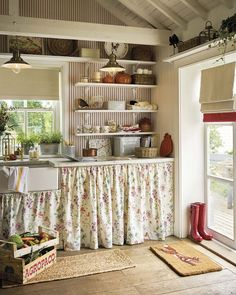 Shabby Chic Home Decor Uk few Shabby Chic Living Room Ideas On A Budget versus Home Decor Ideas In Pakistan by Home Decor Lights Near Me Cocina Shabby Chic, Shabby Chic Kitchen, Shabby Chic Cottage, Shabby Chic Homes, Shabby Chic Decor, Kitchen Decor, Rustic Decor, Whimsical Kitchen, Kitchen Ideas