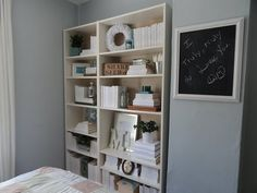 Staging a bookcase