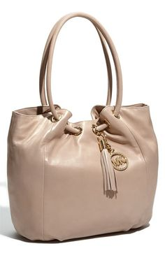 MICHAEL Michael Kors 'Ring' Leather Tote | Nordstrom - StyleSays