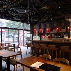 patachon zine red design interior of french cafe wine bar shanghai china red design consultants interior design china shanghai