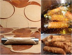 to make Cannoli from Scratch. You'd never believe how easy homemade cannoli is! Italian Pastries, Italian Desserts, Just Desserts, Dessert Recipes, Take The Cannoli, Holy Cannoli, Eclairs, Cannoli Shells, Cannoli Recipe