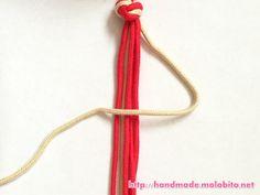 タッチング結びの編み方手順6
