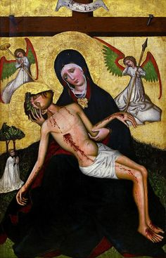 Gallery of Medieval Art / Permanent galleries / Collections / National Museum in Warsaw Christian Symbols, Christian Art, Religious Icons, Religious Art, Religious Pictures, Catholic Art, Roman Catholic, Mural Painting, Painting & Drawing