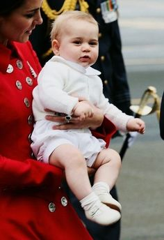 Kate and Prince George 4/6/14 in New Zealand.