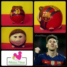 Messi del Barcelona F.C.