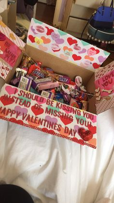 #valentinesday #boyfriend #longdistance #carepackage