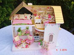 Sylvanian Decorated Fairy Cottage