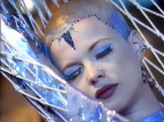Opus III - Talk to the Wind video, hairline Superhero Makeup, Shaved Head, Hairline, My Images, Shaving, Sculpture, Musicians, Inspirational, City