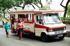 Le truck - bus tahitien. A ne pas rater !