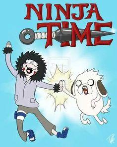 Naruto - Adventure Time mash-up! LoL :P
