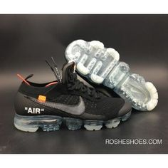 cd839850a09 New Style Off-White X Nike Air Vapormax Black/Total Crimson-Clear  Aa3831-002. Yeezy SkorLöparskor ...
