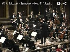 Mozart - Symphony No 41 (Jupiter) in C major - Harnoncourt - Wolfgang Amadeus Mozart completed his Symphony No. 41 in C major, K. 551, on 10 August 1788. It was the last symphony that he composed, and also the longest. The work is nicknamed the Jupiter Symphony. This name stems not from Mozart but rather was likely coined by the impresario Johann Peter Salomon in an early arrangement for piano.