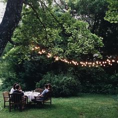 Home Exterior Decorating with Outdoor lighting Outdoor Gardens, Indoor Outdoor, Outdoor Dining, Outdoor Food, Outdoor Life, Dining Table, The Kinfolk Table, Plein Air, Outdoor Entertaining