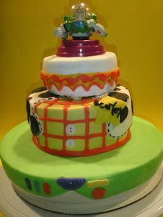 Toy Story all Butter Cream Birthday cake design