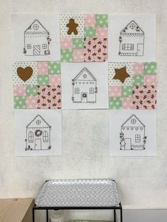 Gingerbread Village Free Block of the Month