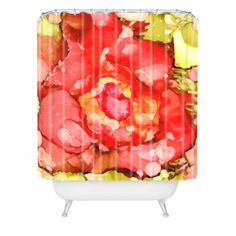 Rosie Brown Kiss From A Rose Shower Curtain | DENY Designs Home Accessories #shower #curtain #bath #homedecor #art #denydesigns