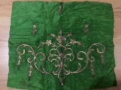 2 ottoman silk gold metallic bindallı part 7 • $249.00