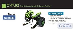Ultimate Kayak and Canoe Trolley competition Facebook Competition, Kayak Cart, Canoe, Kayaking, Kayaks