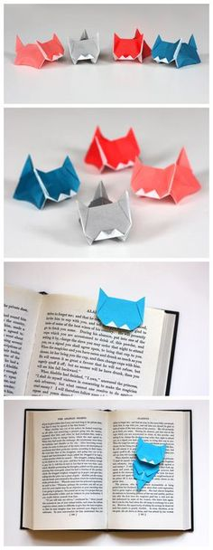 We've always wanted to build origami shapes, but it looked too hard to learn. Turns out we were wrong, we found these awesome origami shapes. Gato Origami, Origami Diy, Origami And Kirigami, Origami Paper Art, Origami Tutorial, Diy Paper, Origami Ball, Origami Boxes, Dollar Origami