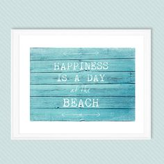 Beach decor,PHOTOGRAPH, choose your text PRINT, seashore, shabby chic home decor,  aqua, turquoise, typography, beach home decor