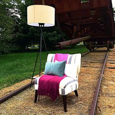 Don't lose track of your style. Stop into West Elm for a great fall update! #train #tracks #traintracks #westelmoutlet #westelm #lancaster #lancasterpa #pennsylvania #style