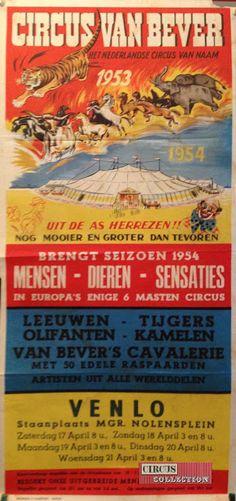 Circus collection: Circus Van Bever 1954