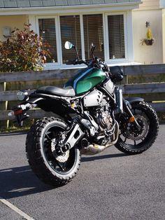 Yamaha XSR700 Scrambler Super 7 By JVB Moto Motorcycles