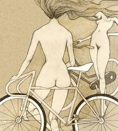 Hey, I found this really awesome Etsy listing at https://www.etsy.com/listing/121963687/big-bike-booty-giclee-print
