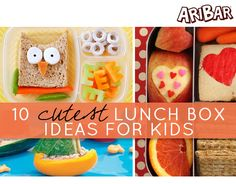 10 cutest lunch box ideas for kids-you bet I'll be doing this for my kids. :D
