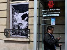 Street-Art dans les rues de Paris – Charles Leval