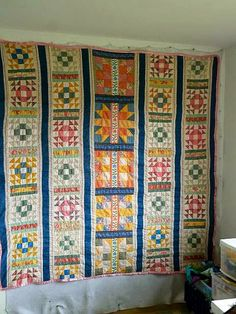 Allie's in Stitches I've spent the last 5 days making a bed quilt to be donated to someone needing comfort and support--and warmth--in the community hit by the mudslide in Northern Washington state.  I'm just calling it the Oso quilt.